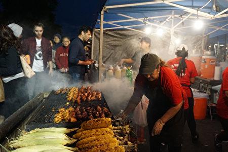 2019年皇后区夜市(Queens Night Market)活动现场。