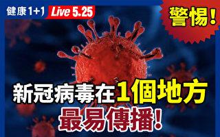 【重播】警惕!新冠病毒在1个地方 最容易传播