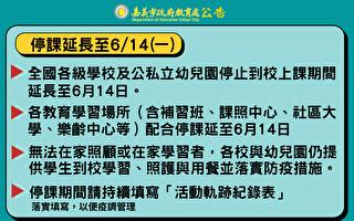 停課延長 嘉市教育提出8大作為 讓親師生安心