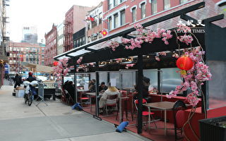 白思豪就戶外用餐占用車道的投訴進行辯護