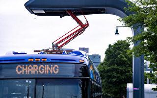 圖片新聞:MTA購買電力公交車