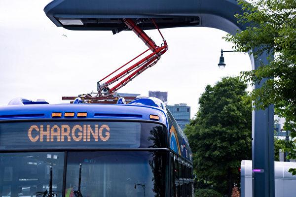 图片新闻:MTA购买电力公交车