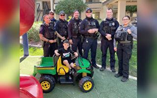4岁男孩玩具车被盗超伤心 警员筹款赠一新的