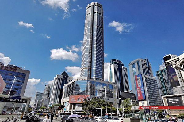 深圳賽格大廈持續出現不明原因晃動