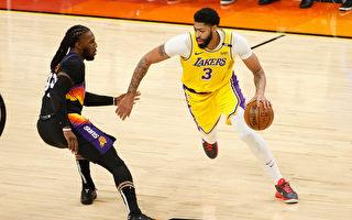 NBA将功赎罪攻下34分 戴维斯率湖人射日