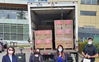 共同抗疫 SUNWINS再赠30万口罩予素里
