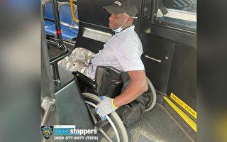 男子在布碌崙砸车窗偷工具 坐轮椅逃逸
