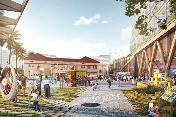 谷歌聖荷西新園區計畫獲批准