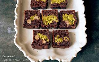 开心果可可磅蛋糕 堆叠口感甜而不腻