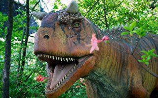 恐龙体验惊心动魄 新泽西六旗冒险乐园又添新展