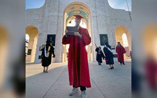 昔日無家可歸 加州男苦讀獲醫學博士學位