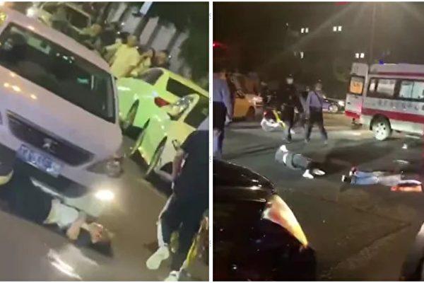 南京爆惡性事件 男子車碾前妻 刀捅路人