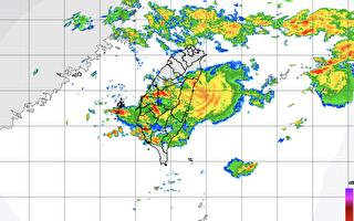 氣象局:台灣中南部9縣市大雨、豪雨特報