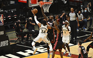NBA季後賽:雄鹿率先晉級 湖人被太陽扳平