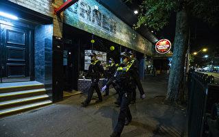 寒冷冬夜暖心之舉 澳警察為無家可歸者買食物
