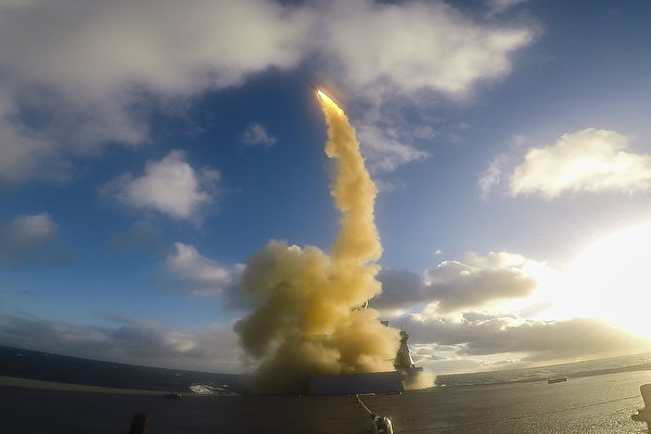军舰杀手威风不再 超音速反舰弹被紫菀导弹拦截