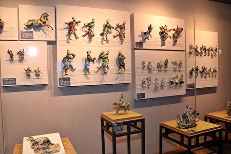 嘉義市立博物館的交趾陶。
