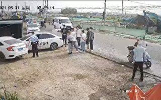 """黑保安堵车 南通访民被以""""危险驾驶罪""""传唤"""