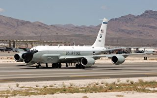 美RC-135U抵近东海 5月空侦量较去年增1倍