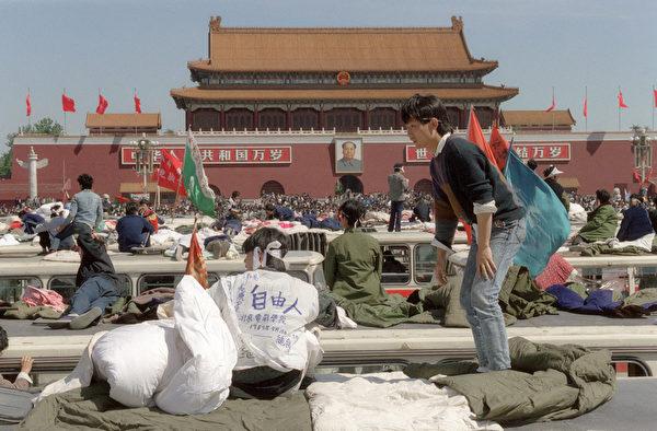 CHINA-BEIJING SPRING-TIANANMEN-HUNGER STRIKE