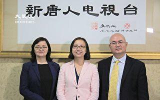 華埠市議員候選人李金枝訪大紀元