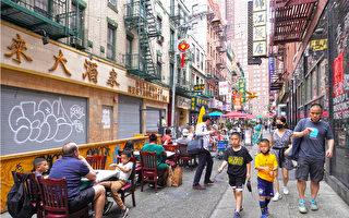 曼哈顿中城与金融区办公室无返工潮 华埠待人潮