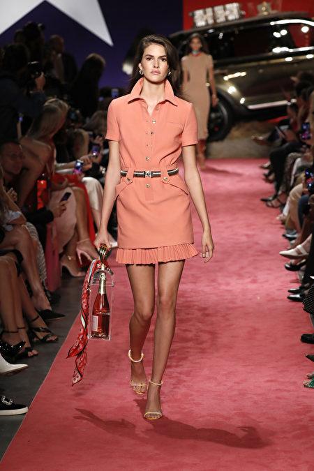 时装周, 时尚, 裙, 美国