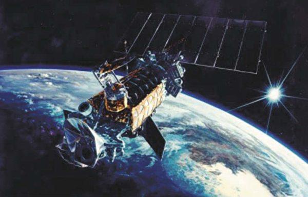 美國軍方的氣象、海洋和地理衛星(Defense Meteorological Satellite)。(美國太空軍)