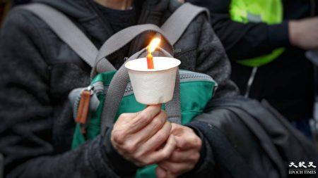 倫敦逾千人集會 紀念六四為港人發聲