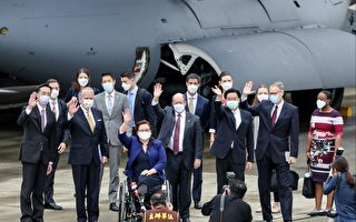 美三參議員抵台 宣布贈台灣75萬劑疫苗