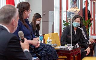 蔡英文:感謝美將台列入第一波疫苗共享名單