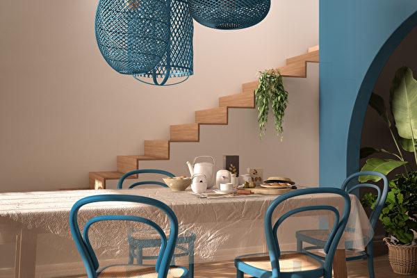 室内配色怎么挑?蓝色超美搭配一次看