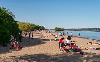多倫多10個湖灘開放游泳 市民需遵守規定