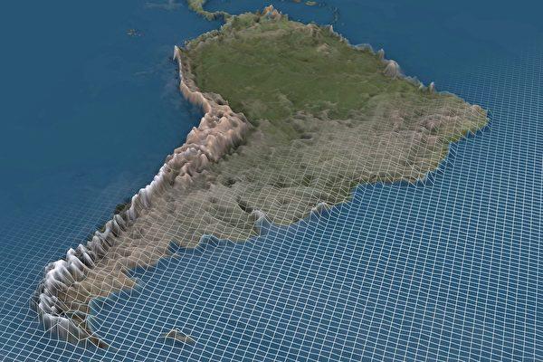 雨滴汇入海洋前会经过哪里 这张地图告诉你