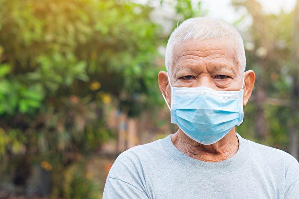 老年人若被感染新冠肺炎,重症、死亡風險最高。(Shutterstock)