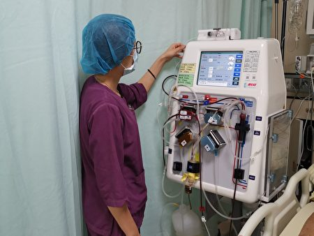 北荣桃园分院提供透析病人完善的照护。
