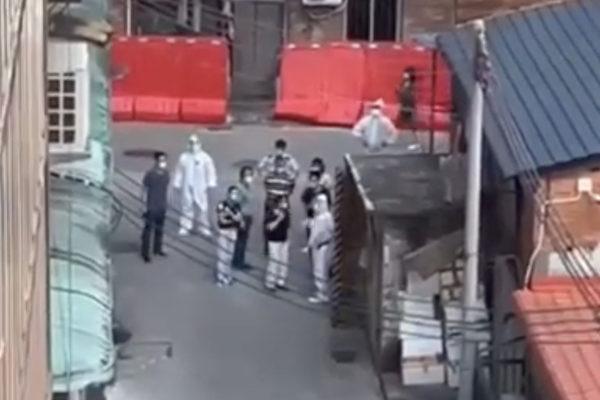 【一线采访】官员视察 广州人喊:没吃的