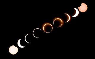 火環日食週四登場 NASA提醒如何觀看