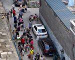 【一線採訪】廣州疫區監控 軍人保安晝夜巡邏
