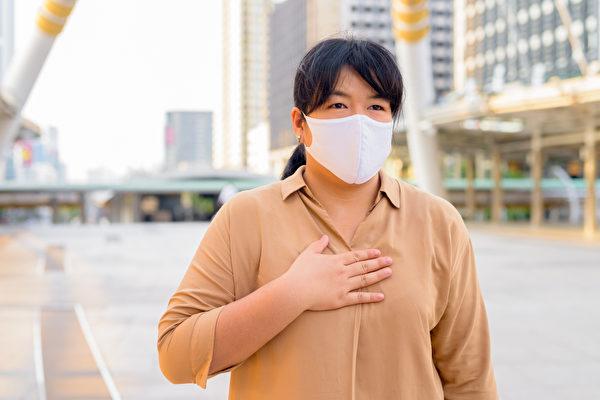 肥胖者感染新冠病毒容易重症,降低風險方法是減肥。(Shutterstock)