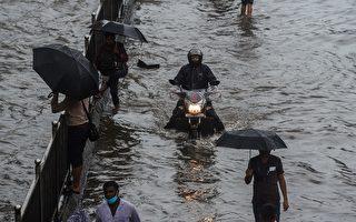 組圖:印度受季風暴雨侵襲 孟買遭遇洪災