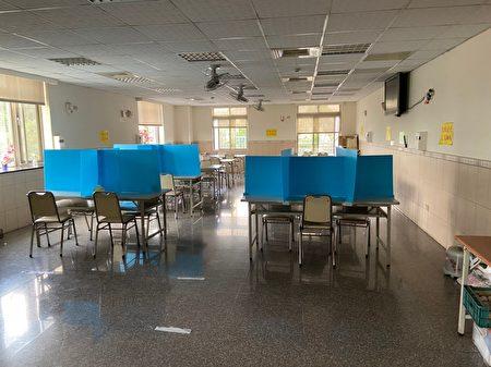台中市府稽查企業移工宿舍。