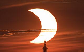 組圖:精采瞬間 2021年火環日食奇觀