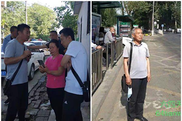 北京警察夜间清理访民 辽宁姜家文被带走