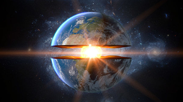 科學家發現地核一側長勢較快