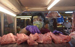 堅固市場熱區防疫網  屏縣發放攤商防護面罩