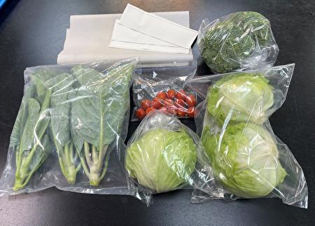 運用適當包裝材小量分裝,並以溼餐巾紙維持溼度,能讓蔬果保鮮好品質。