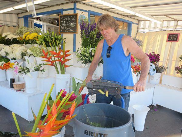 """""""花和朋友""""老板:花店是我服务社区的方式"""