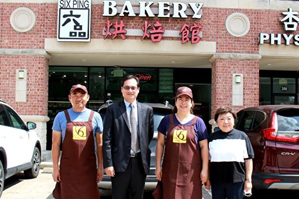 罗复文关怀台资食品产业 参访中国城商家