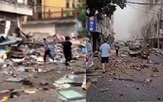十堰燃氣爆炸150死傷 現場戒嚴不少人未救出